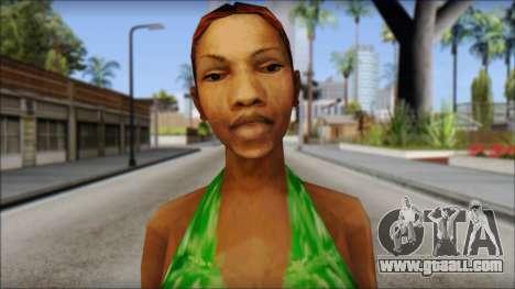 Kendl Skin for GTA San Andreas third screenshot