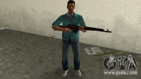 Self-Loading Rifle Tokareva for GTA Vice City
