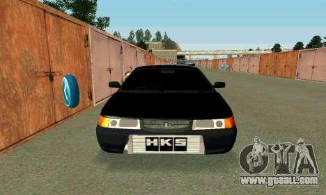 VAZ 21123 Turbo for GTA San Andreas back view