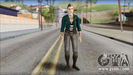 Clara Lille From Watch Dogs for GTA San Andreas