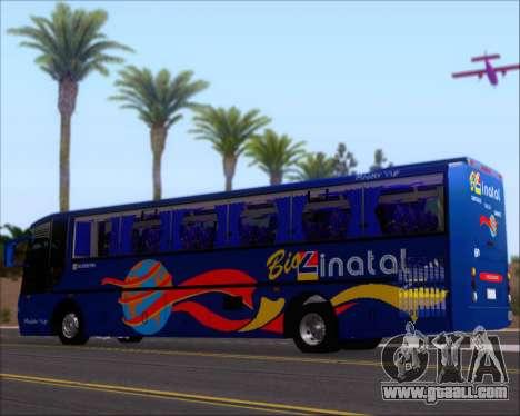 Busscar El Buss 340 Bio Linatal for GTA San Andreas interior