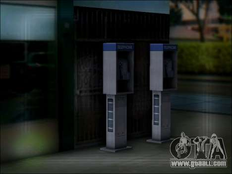Street phone for GTA San Andreas fifth screenshot