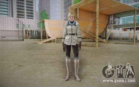 Sherry Birkin Europa from Resident Evil 6 for GTA San Andreas