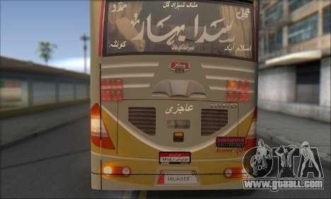 Sada Bahar Coach for GTA San Andreas back view