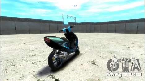 Yamaha Aero X Polini for GTA 4 back left view