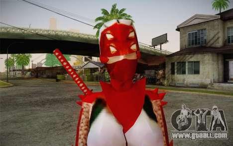 Hibana from Nigthshade of Shinobi for GTA San Andreas third screenshot