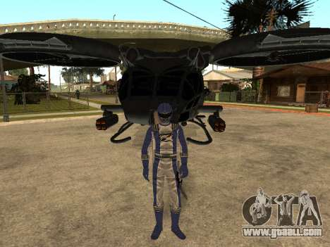 Power Rangers Operation Overdrive for GTA San Andreas seventh screenshot