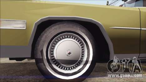 Cadillac Eldorado Stock for GTA San Andreas right view