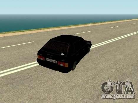 VAZ 2114 for GTA San Andreas back left view