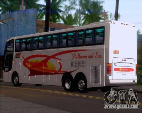 Busscar Jum Buss 400 Volvo B10R Pullman Del Sur for GTA San Andreas right view