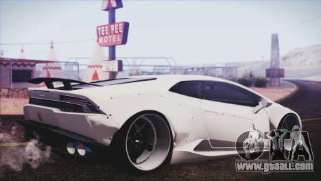 Lamborghini Huracan Liberty Walk for GTA San Andreas left view