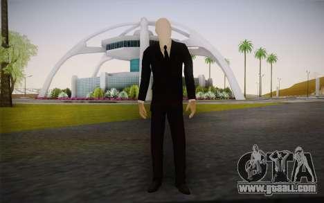 Slenderman for GTA San Andreas