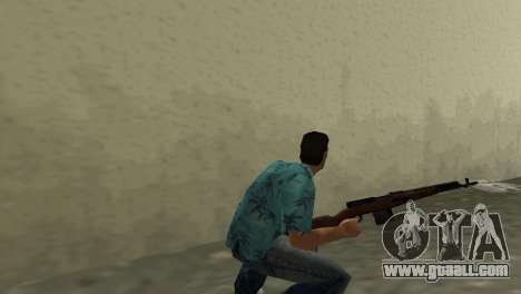 Self-Loading Rifle Tokareva for GTA Vice City second screenshot