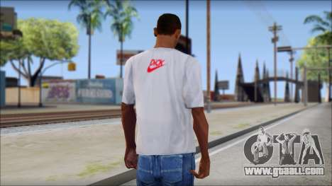 N1KE Head T-Shirt for GTA San Andreas second screenshot
