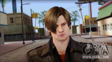 Leon Kennedy from Resident Evil 6 v1 for GTA San Andreas third screenshot