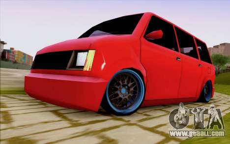 Moonbeam Stance for GTA San Andreas back left view