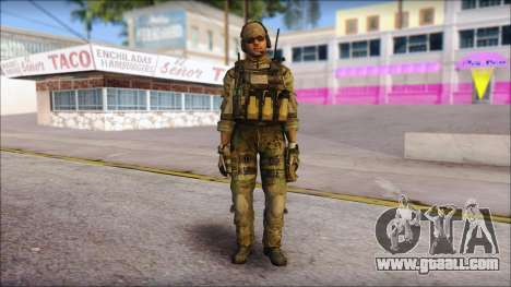 Grinch from Modern Warfare 3 for GTA San Andreas