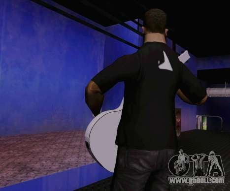 Songs of Viktor Tsoi guitar for GTA San Andreas third screenshot