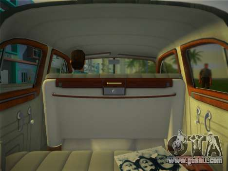 Packard Standard Eight Touring Sedan 1948 for GTA Vice City back view
