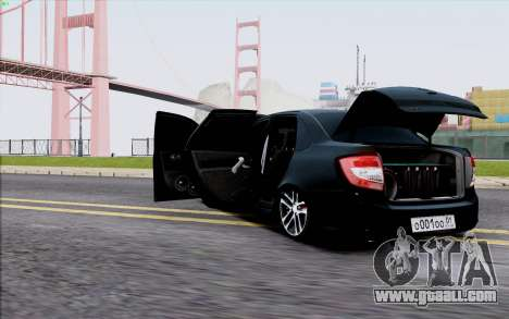 Lada 2190 Granta for GTA San Andreas back view