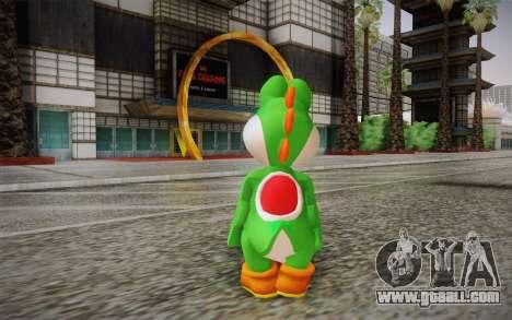 Yoshi from Super Mario for GTA San Andreas second screenshot