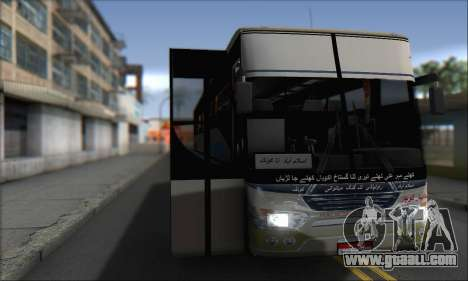 Sada Bahar Coach for GTA San Andreas back left view