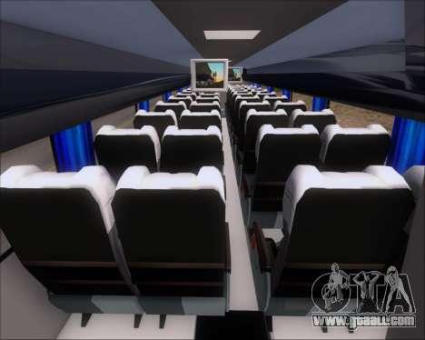 Busscar Vissta Buss LO Mercedes Benz 0-500RS for GTA San Andreas inner view