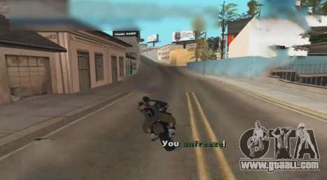 Unfreeze for GTA San Andreas