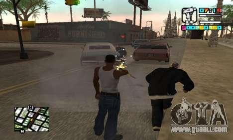 New HUD by Ptaxa1999 for GTA San Andreas forth screenshot