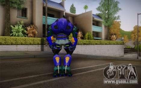 Blue Elite v2 for GTA San Andreas second screenshot