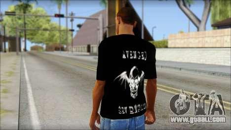 A7X Waking The Fallen Fan T-Shirt for GTA San Andreas second screenshot
