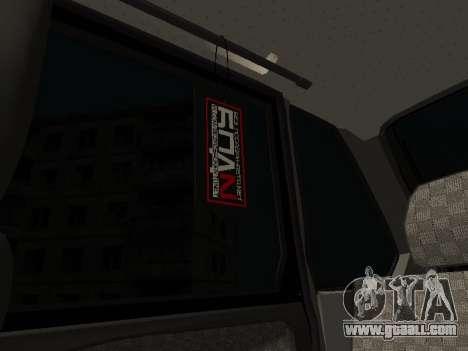 VAZ 2114 for GTA San Andreas upper view