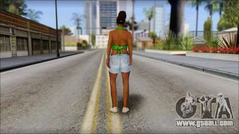 Kendl Skin for GTA San Andreas second screenshot