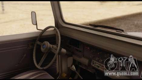 Toyota Land Cruiser (FJ40) 1978 for GTA San Andreas back left view