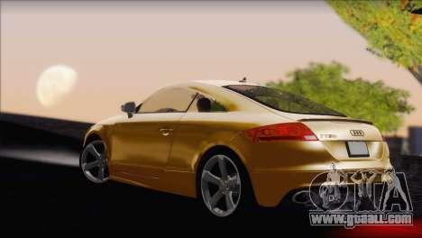 Audi TT RS v2 2011 for GTA San Andreas left view