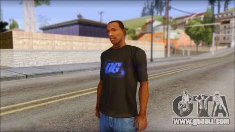 DG Negra T-Shirt for GTA San Andreas