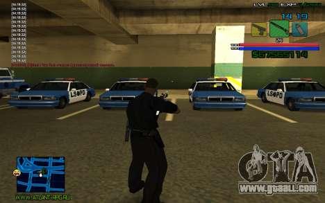 C-HUD by SampHack v.3 for GTA San Andreas third screenshot