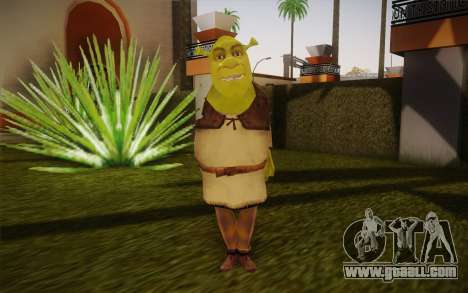 Shrek for GTA San Andreas