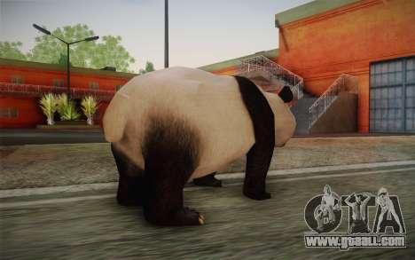 Giant Panda for GTA San Andreas second screenshot