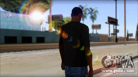 DG Negra T-Shirt for GTA San Andreas second screenshot