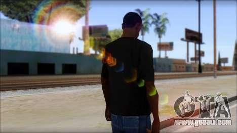 DG Negra T-Shirt for GTA San Andreas second screenshot
