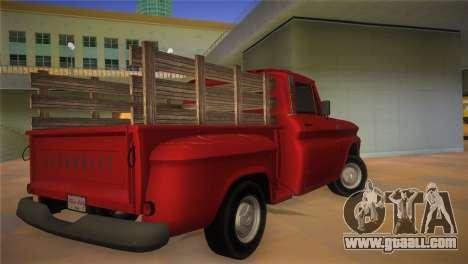 Chevrolet C10 for GTA Vice City left view