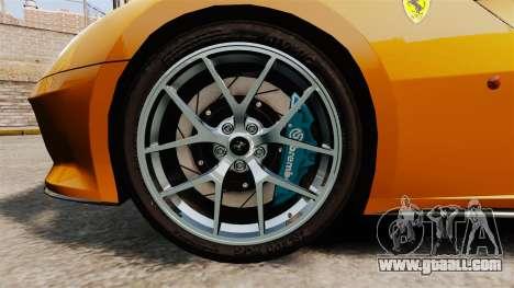 Ferrari 599 GTO PJ2 for GTA 4 back view