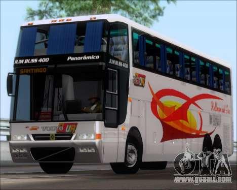 Busscar Jum Buss 400 Volvo B10R Pullman Del Sur for GTA San Andreas left view