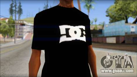 DC Shoes Shirt for GTA San Andreas third screenshot