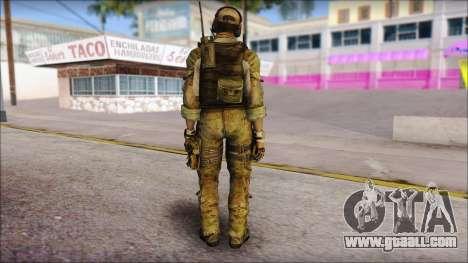 Grinch from Modern Warfare 3 for GTA San Andreas second screenshot