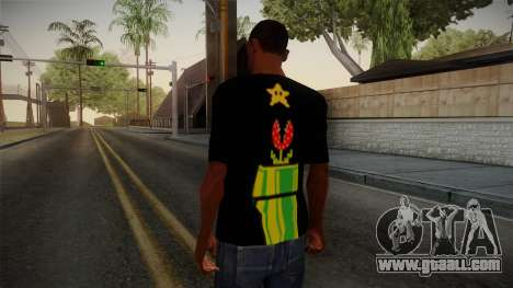 Mario Bros T-Shirt for GTA San Andreas second screenshot