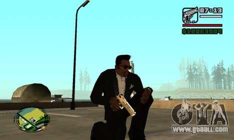 Gold Deagle for GTA San Andreas second screenshot
