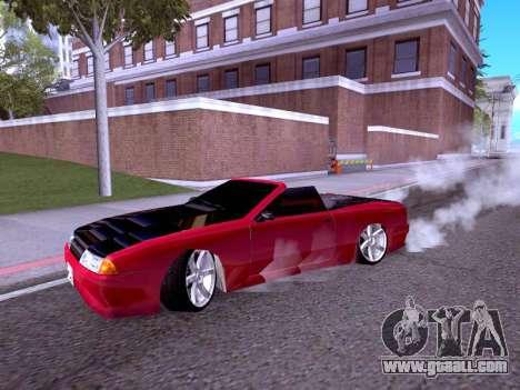 Elegy Cabrio HD for GTA San Andreas left view