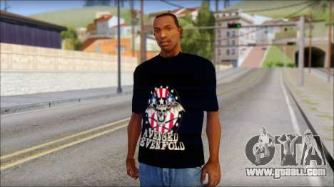 A7X Love It Or Die Fan T-Shirt for GTA San Andreas